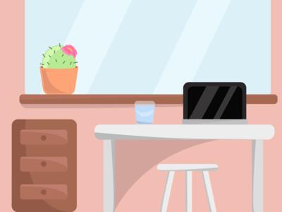 simple workingspace