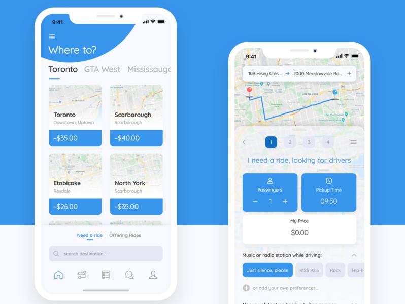 Uber Like Mobile App UI.UX Design uber clone uber design uber mobile design mobile app design uxdesign ux uidesign ui sketchapp design app