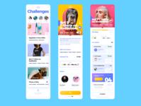 Challenges Mobile App UIUX Design For Teenagers mobile ux uxdesign mobile app design mobile design uidesign ui sketchapp design app