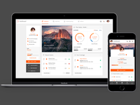 Multi Platform Dashboard UI/UX Design sketchapp uxdesign uidesign webapp web app ux ui design
