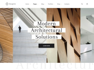Inspire Architectural Solutions WordPress Theme template wordpress interior architecture inspire