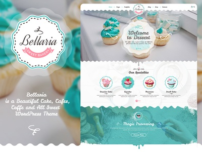 Bellaria A Delicious Cakes and Bakery WordPress Theme