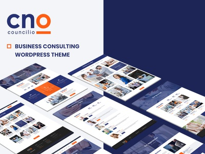 Councilio Business WordPress Theme website business consulting wordpress