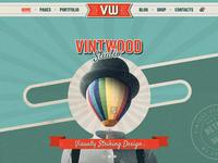 Vintwood Vintage Retro WordPress Theme