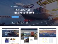 Globeco Transportation & Logistics WordPress Theme