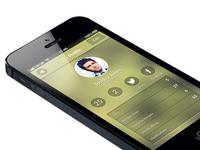 App re design - User Profile