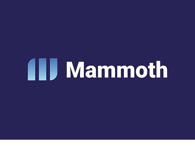 Mammoth logo design! logo minimalist logo mammoth minimalism vector icon design branding animal