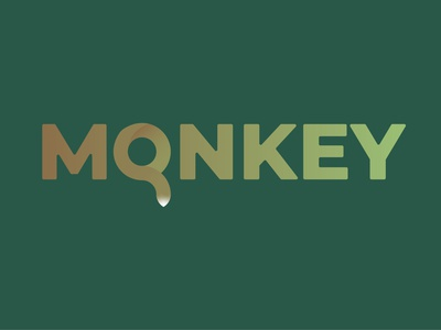Monkey logo design. monkey illustration vector logo icon design branding animal
