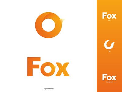 Fox logo concept. animal logo design vector flat design modern illustrator flat illustration logodesign design logo fox logo fox