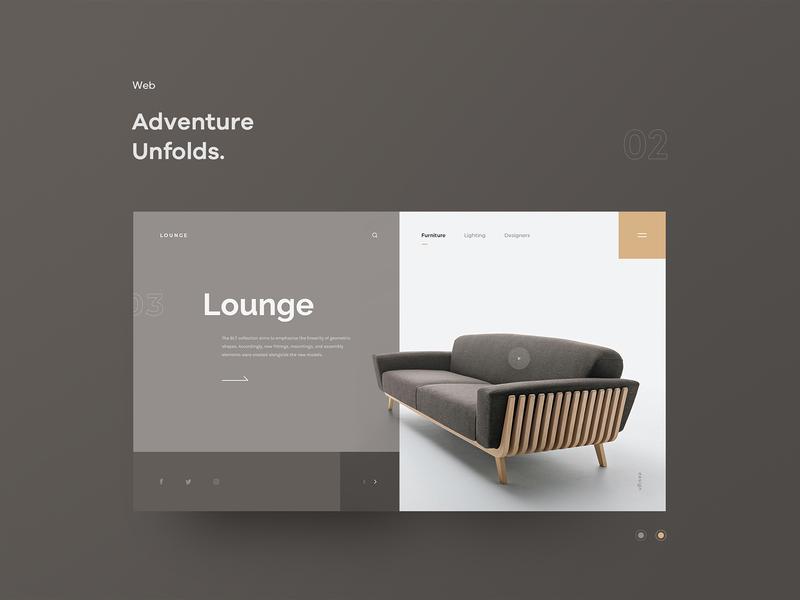 web-2 typography web ui