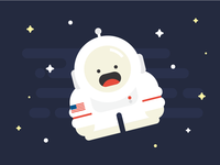 Yeti in Space