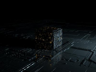 Sci - fi cube
