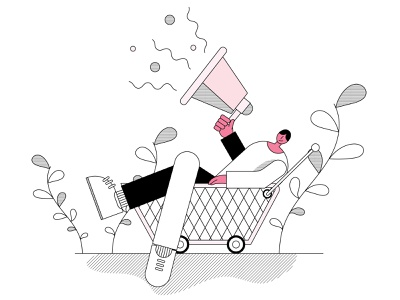 Promotion icon vector design illustration