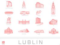 Lublin - buildings