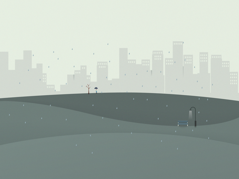 November poland lublin vector rain month calendar app illustration bazo calendar november