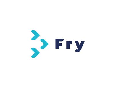 Fry three 3 fishing net fishes fish fry