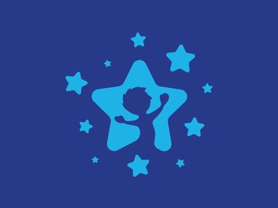 Lubelskie Badania Przesiewowe lubelski lubelskie lublin hspital clinic blue stars star childish kid logo