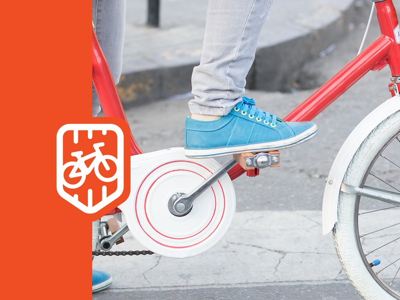Retro Bikes logo for sale sport orange bike bicycle bikes retro