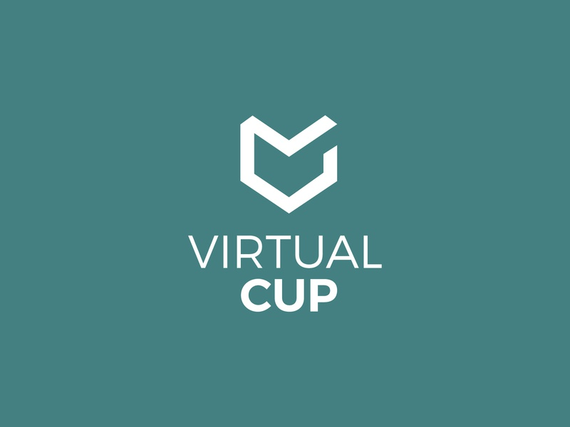 Virtual Cup identity event virtual reality hackathon logo brand