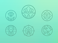 Garden Bridge icons