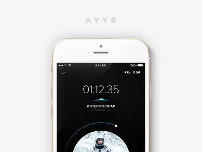Ayyo Future interstellar movies timer seek player future ayyo ios