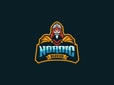 NORDIC WARRIOR (Concept for client ) logo label pomade warrior busines card brand identiy artwork
