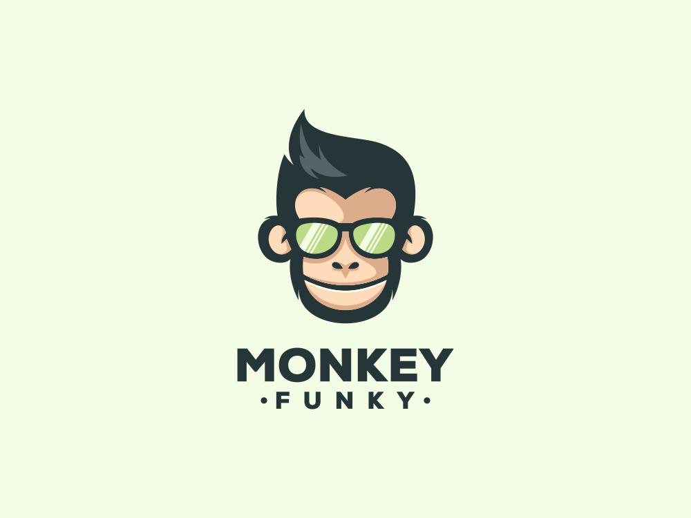 Monkey simplemonkey monkey company photoshop illustration grid graphich design forsale sketch artwork crfeative coreldraw busines card brand identity logo