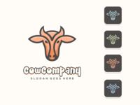 Cow Logo Concept