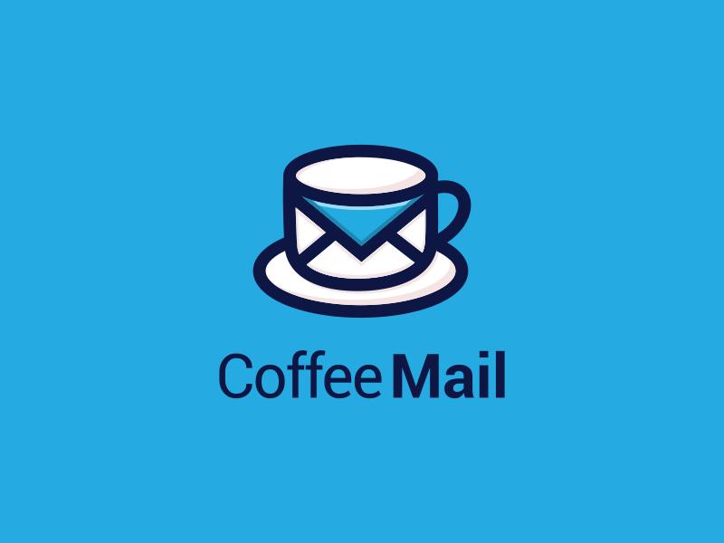 Coffe Mail coffemail vector label photoshop graphich design forsale artwork sketch crfeative coreldraw busines card brand identity logo