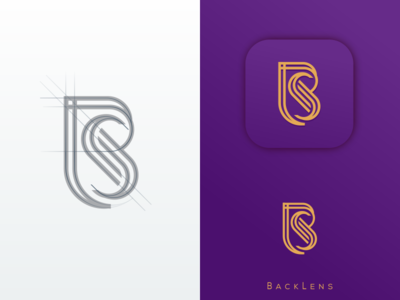 Bls Monogram FOR BACKLENS