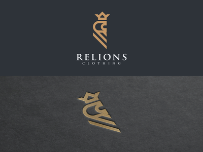 RELIONS illustration company graphich design forsale grid sketch artwork crfeative coreldraw busines card brand identity logo