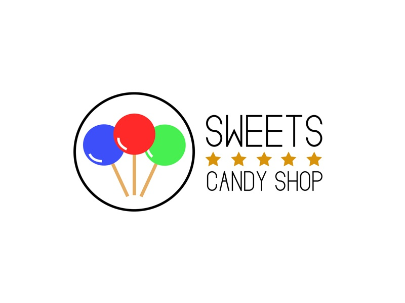 30 Day Logo Challenge: Day 11 'Sweets' thirty day graphic branding brand day thirty thirty days sweets typography candy logo thirty logo