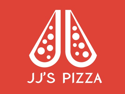 30 Day Logo Challenge: Day 13 'JJ's Pizza'