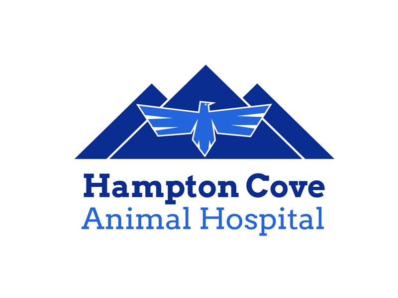 30 Day Logo Challenge: Day 19 'Hampton Cove Animal Hospital' hampton cove animal hospital thirty logo logo animal typography thirty days thirty day brand branding graphic thirty day
