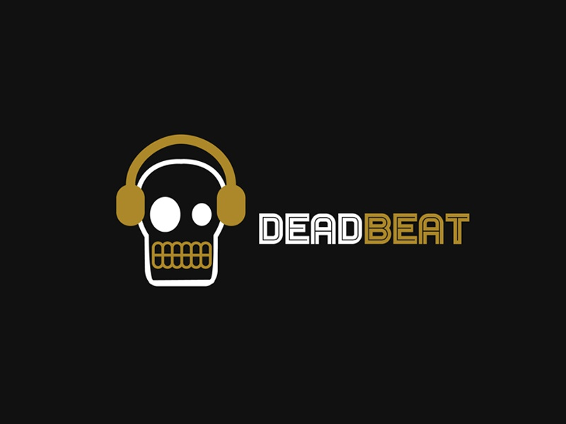 30 Day Logo Challenge: Day 23 'Deadbeat' deadbeat thirty logo logo music typography thirty days thirty day brand branding graphic thirty day