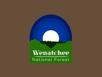 30 Day Logo Challenge: Day 25 'Wenatchee National Forest'
