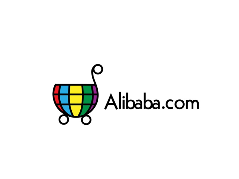 30 Day Logo Challenge: Day 30 'Alibaba.com Redesign' alibaba.com thirty logo logo redesign typography thirty days thirty day brand branding graphic thirty day