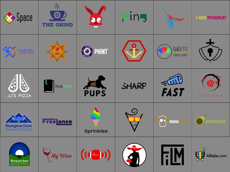 30 Days of Logo Design: All 30 Completed Designs multiple bundle challenge brand logo daily thirty logo thirtylogos thirty logos