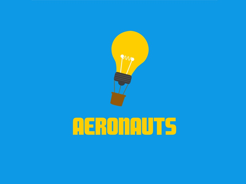 Daily Logo Challenge (Day 02/50): Hot Air Balloon Logo dailylogochallenge daily logo challenge brand branding wordmark balloon hot air balloon