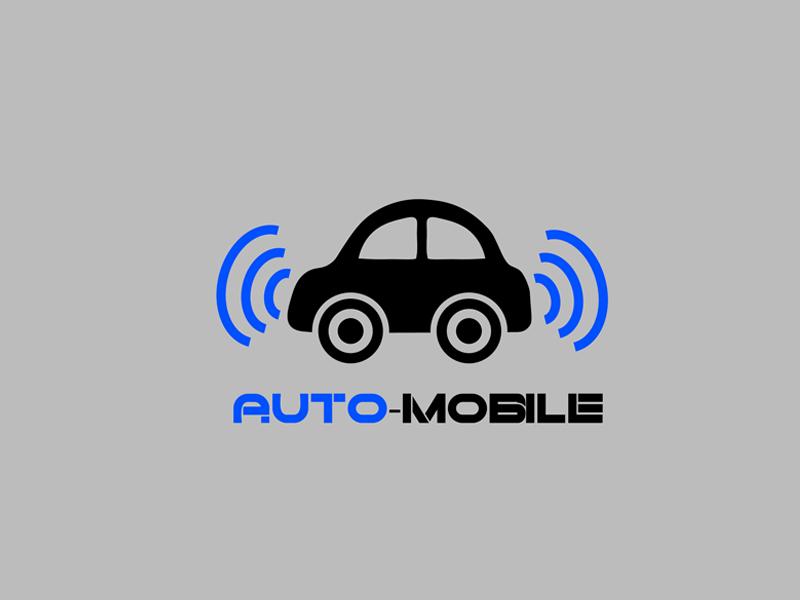 Daily Logo Challenge (Day 05/50): Driverless Car Logo driverless car car wordmark branding brand challenge logo daily dailylogochallenge