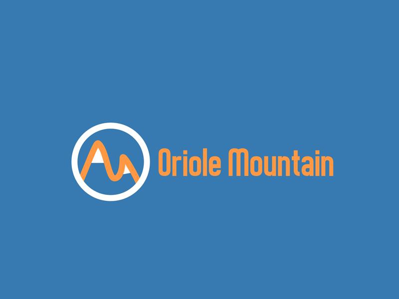 Daily Logo Challenge (Day 08/50): Ski Mountain Logo dailylogochallenge daily logo challenge brand branding wordmark ski mountain mountain