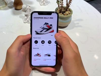 Ahead Of 3D sneakers