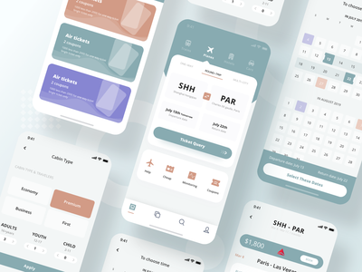Flight ticket UI design simple design simple plane flight ticket search flight app flight booking aircraft design app ux ui