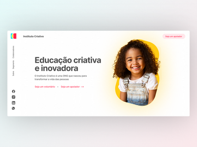 Landing Page Concept - DailyUI dailyui 003 branding ui design uidesign dailyuichallenge daily ui dailyui ui minimal flat design