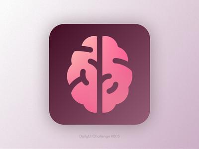 Icon Mind App iconapp icons icon app ui design uidesign dailyuichallenge daily ui dailyui ui minimal flat design