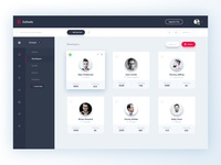 Esthetic UI Kit - Dashboard (Groups)