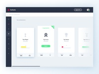 Esthetic UI Kit - Dashboard (Achievements)