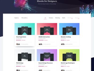 Nuemba eBooks (.sketch) ux ui sketch product page landing homepage freebie free shop store ebook