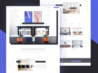 Inspiring workspaces - landing page (.sketch)