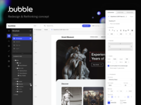 Bubble.is - Redesign & Rethinking Concept